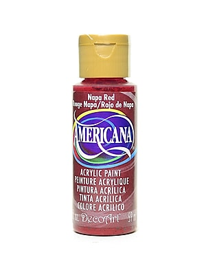 Decoart Americana Acrylic Paints Napa Red 2 Oz. [Pack Of 8] (8PK-DA165-3)