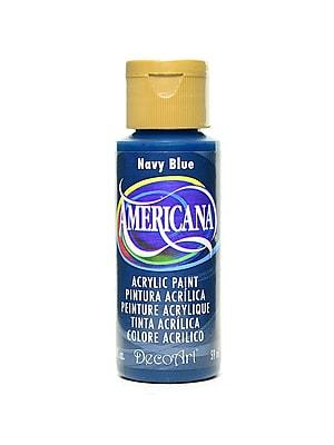 Decoart Americana Acrylic Paints Navy Blue 2 Oz. [Pack Of 8] (8PK-DA35-3)