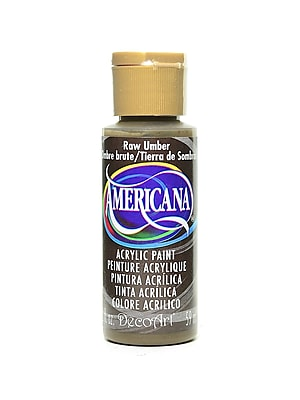 Decoart Americana Acrylic Paints Raw Umber 2 Oz. [Pack Of 8] (8PK-DA130-3)