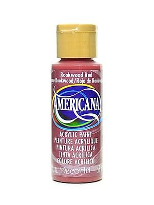 Decoart Americana Acrylic Paints Rookwood Red 2 Oz. [Pack Of 8] (8PK-DA97-3)