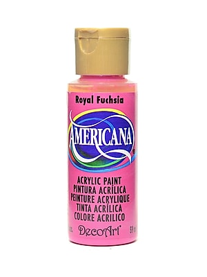Decoart Americana Acrylic Paints Royal Fuchsia 2 Oz. [Pack Of 8] (8PK-DA151-3)