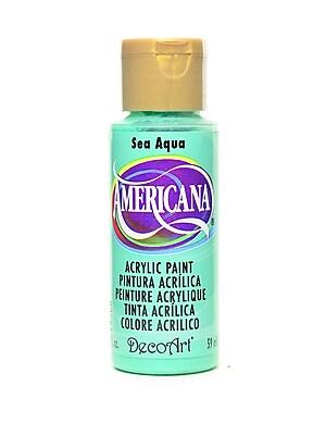 Decoart Americana Acrylic Paints Sea Aqua 2 Oz. [Pack Of 8] (8PK-DA46-3)