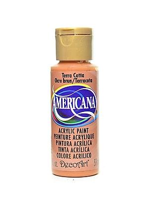 Decoart Americana Acrylic Paints Terra Cotta 2 Oz. [Pack Of 8] (8PK-DA62-3)
