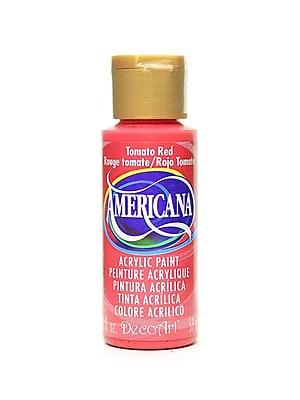 Decoart Americana Acrylic Paints Tomato Red 2 Oz. [Pack Of 8] (8PK-DA169-3)