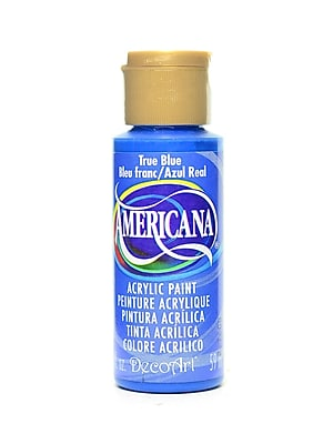 Decoart Americana Acrylic Paints True Blue 2 Oz. [Pack Of 8] (8PK-DA36-3)