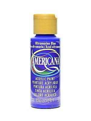 Decoart Americana Acrylic Paints Ultramarine Blue 2 Oz. [Pack Of 8] (8PK-DA225-3)