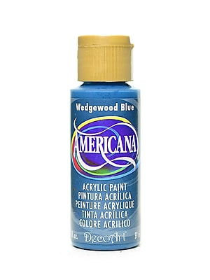 Decoart Americana Acrylic Paints Wedgwood Blue 2 Oz. [Pack Of 8] (8PK-DA38-3)
