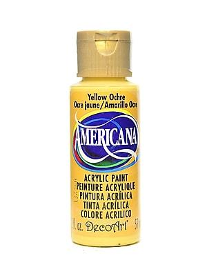Decoart Americana Acrylic Paints Yellow Ochre 2 Oz. [Pack Of 8] (8PK-DA8-3)