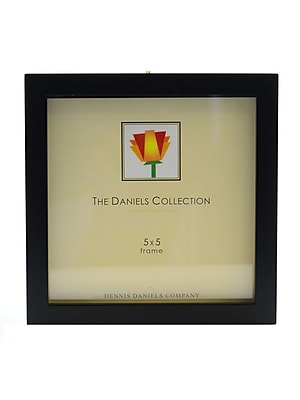 Dennis Daniels Gallery Woods Essential Frames 5 In. X 5 In. Ebony [Pack Of 2] (2PK-W4105.5E)
