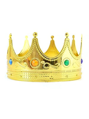 Dillon Tiaras And Crowns Gold King Crown (09-2452)