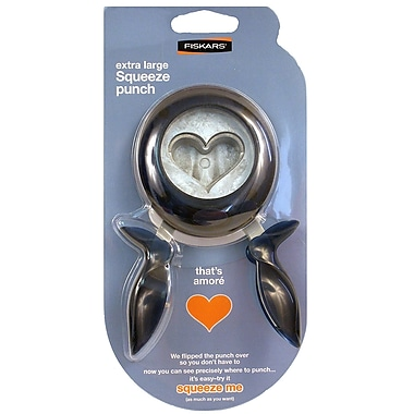 Fiskars Extra Large Squeeze Punch That'S Amore (174190-1001)