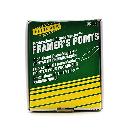 Fletcher-Terry Point Driver Framers Points Box Of 3000 (08-950 ...