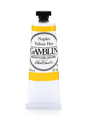Gamblin Artist'S Oil Colors Naples Yellow Hue 37 Ml [Pack Of 2] (2PK-1450)