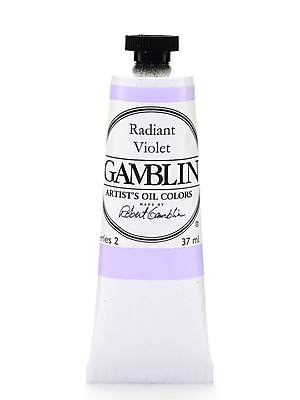 Gamblin Artist'S Oil Colors Radiant Violet 37 Ml [Pack Of 2] (2PK-1870)