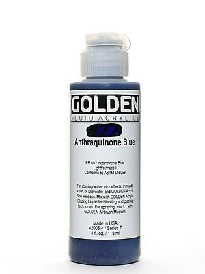 Golden Fluid Acrylics Anthraquinone Blue 4 Oz. (2005-4)