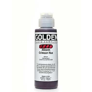 Golden Fluid Acrylics Historical Alizarin Crimson Hue 4 Oz. (2435-4)
