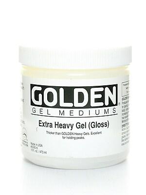 Golden Gel Mediums Extra Heavy Gloss 16 Oz. (3080-6)