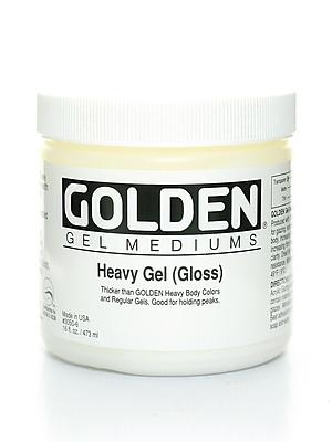Golden Gel Mediums Heavy Gloss 16 Oz. (3050-6)