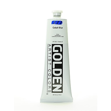 Golden Heavy Body Acrylics Cobalt Blue 5 Oz. (1140-3)