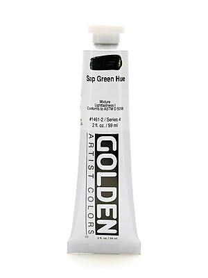 Golden Heavy Body Acrylics Historical Sap Green Hue 2 Oz. [Pack Of 2] (2PK-1461-2)