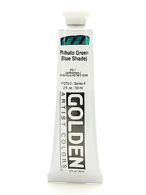 Golden Heavy Body Acrylics Phthalo Green/Blue Shade 2 Oz. [Pack Of 2] (2PK-1270-2)