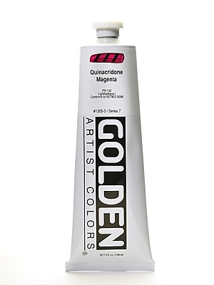 Golden Heavy Body Acrylics Quinacridone Magenta 5 Oz. (1305-3) 2135399
