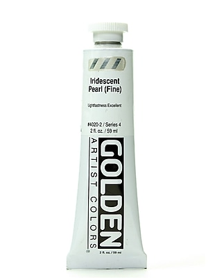 Golden Iridescent And Interference Acrylics Iridescent Pearl Fine 2 Oz. [Pack Of 2] (2PK-4020-2)