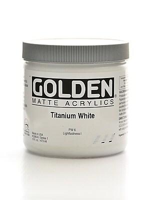 Golden Matte Acrylics Titanium White 16 Oz. (5380-6) 2168611