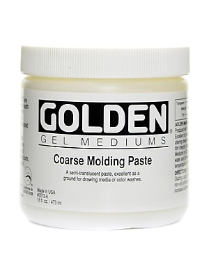 Golden Molding Paste Coarse 16 Oz. (3572-6)