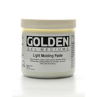 Golden Molding Paste Light 16 Oz. (3575-6)