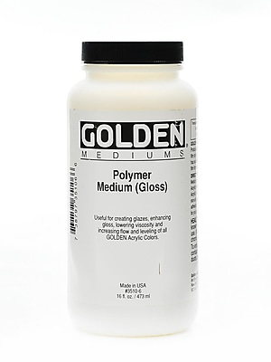 Golden Polymer Medium Gloss 16 Oz. (3510-6)