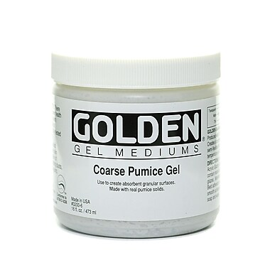 Golden Pumice Gels Coarse 16 Oz. (3200-6)