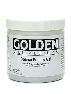 Golden Pumice Gels Coarse 16 Oz. (3200-6)