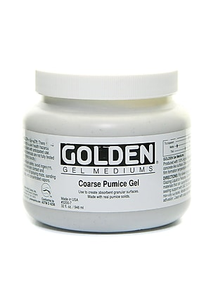 Golden Pumice Gels Coarse 32 Oz. (3200-7)