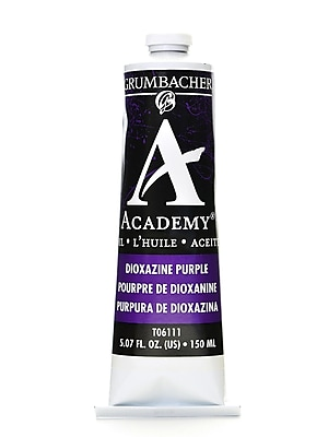 Grumbacher Academy Oil Colors Dioxazine Purple 5.07 Oz. [Pack Of 2] (2PK-T061-11)