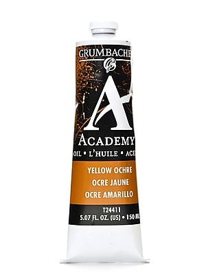 Grumbacher Academy Oil Colors Yellow Ochre 5.07 Oz. [Pack Of 2] (2PK-T244-11)