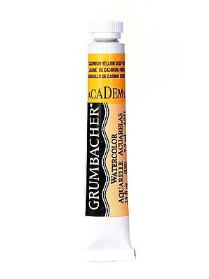 Grumbacher Academy Watercolors Cadmium Yellow Deep Hue [Pack Of 4] (4PK-A031)