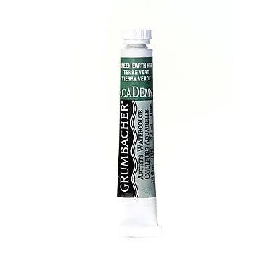 Grumbacher Academy Watercolors Green Earth Hue [Pack Of 4] (4PK-A085)