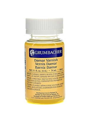 Grumbacher Damar Varnish 2 1/2 Oz. [Pack Of 2] (2PK-569-2)