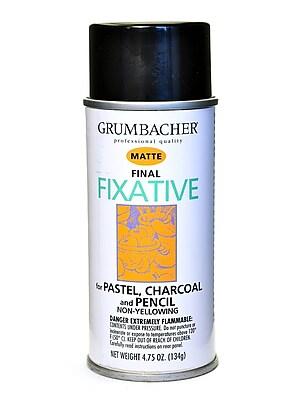 Grumbacher Hard Final Spray Fixative Matte 4.75 Oz. (649)