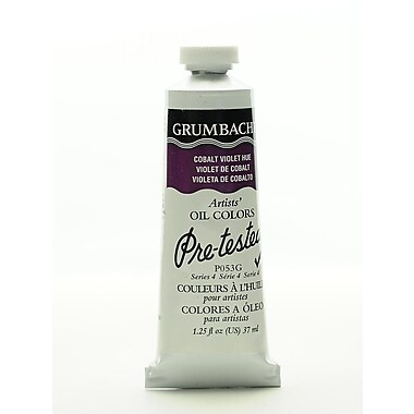 Grumbacher Pre-Tested Artists Oil Colors Cobalt Violet Hue P053 1.25 Oz. (P053G)
