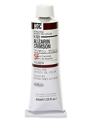 Holbein Artist Oil Colors Alizarin Crimson 40 Ml (H223)