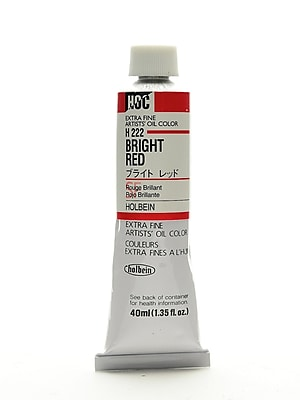Holbein Artist Oil Colors Bright Red 40 Ml (H222)