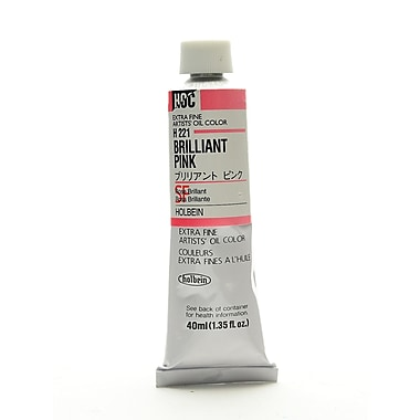 Holbein Artist Oil Colors Brilliant Pink 40 Ml (H221)