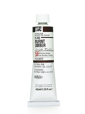 Holbein Artist Oil Colors Burnt Umber 40 Ml (H344)