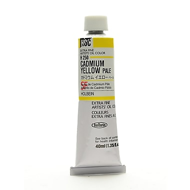 Holbein Artist Oil Colors Cadmium Yellow Pale 40 Ml (H250)