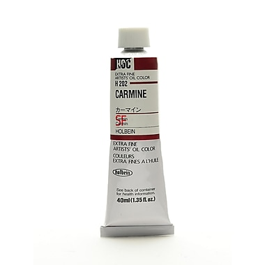 Holbein Artist Oil Colors Carmine 40 Ml (H202)