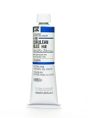 Holbein Artist Oil Colors Cerulean Blue Hue 40 Ml (H306)