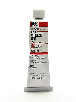Holbein Artist Oil Colors Chinese Red 40 Ml (H213)