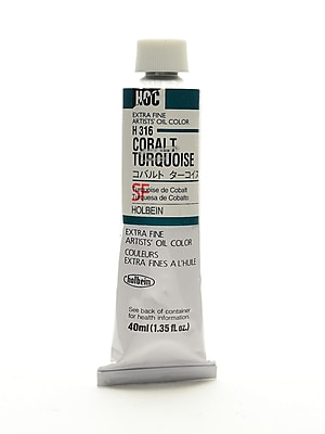 Holbein Artist Oil Colors Cobalt Turquoise 40 Ml (H316)